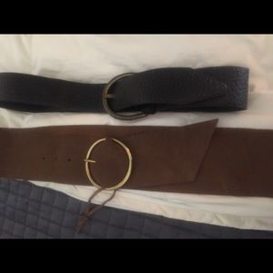 Accessories - Pair of women's belt size large